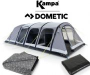 Kampa Studland 6 Air Tent 2020 (Inc: Carpet + Footprint)